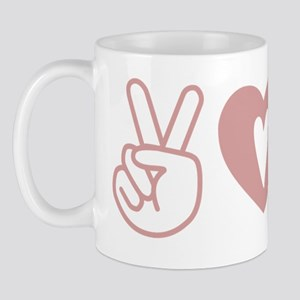Peace Love Royal - Pink 1 Mug